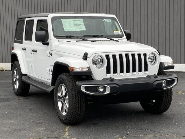 NEW 2021 Jeep Wrangler Unlimited Sahara Lease Offer in Brighton