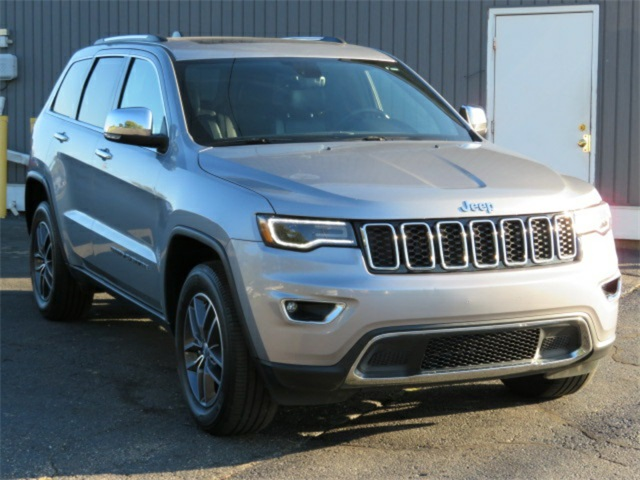 Pre-Owned 2018 Jeep Grand Cherokee Limited 4WD 4D Sport Utility